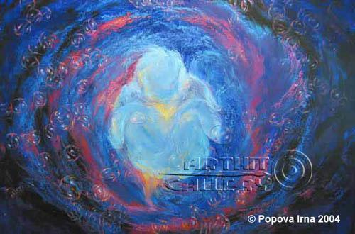 ''Вода''.  Попова Ирина. Продажа картин, предметов декоративно-прикладного искусства