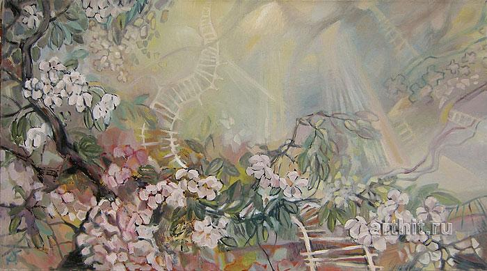 ''Лестницы на небо''.  Багина Ольга. Продажа картин, предметов декоративно-прикладного искусства