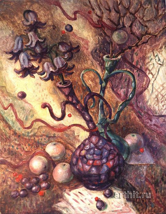 ''Танцующие вазы''.  Багина Ольга. Продажа картин, предметов декоративно-прикладного искусства