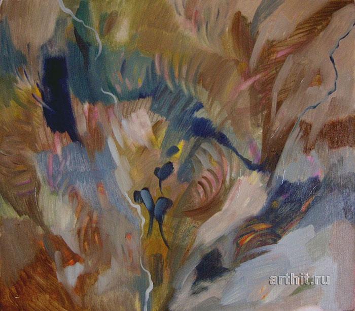 ''Дельфиниумы''.  Багина Ольга. Продажа картин, предметов декоративно-прикладного искусства
