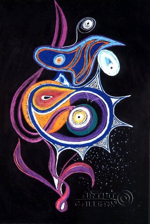 Картины для дома. Продажа картин. Абстракционизм. #0047-06 ... Оп Арт Живопись
