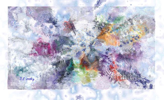 ''Disappeared galaxy''.  Степанов Дмитрий. Продажа картин, предметов декоративно-прикладного искусства