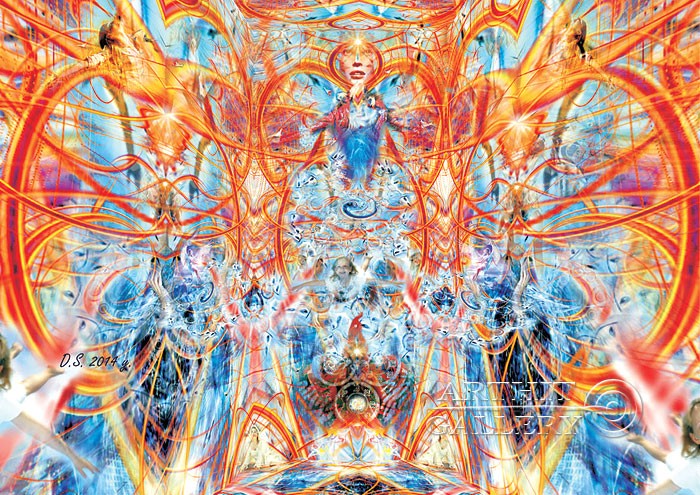 'Birth of the Selfness'  by Stepanoff Dmitry