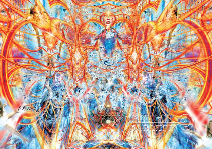 ''Birth of the Selfness''.  Степанов Дмитрий. Продажа картин, предметов декоративно-прикладного искусства