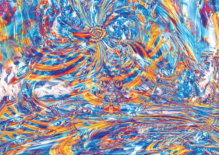 ''Contemplating the Emptiness''.  Степанов Дмитрий. Продажа картин, предметов декоративно-прикладного искусства