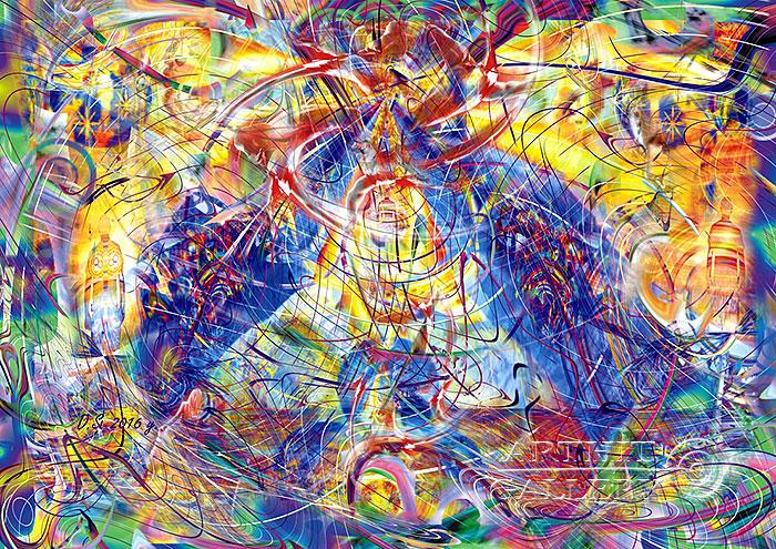 ''The merger branes C-0-1-1-0''.  Степанов Дмитрий. Продажа картин, предметов декоративно-прикладного искусства