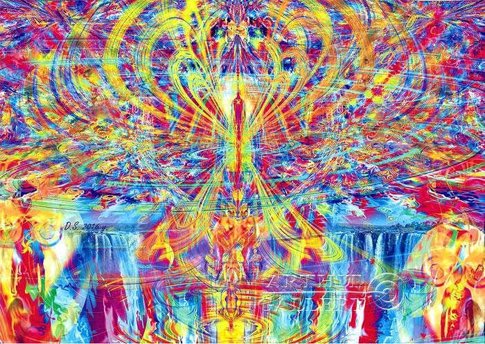 ''Uncertainty Principle _17''.  Степанов Дмитрий. Продажа картин, предметов декоративно-прикладного искусства