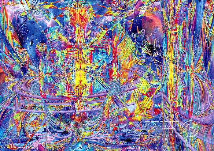 ''SYSTEM dazzling DREAMS''.  Степанов Дмитрий. Продажа картин, предметов декоративно-прикладного искусства