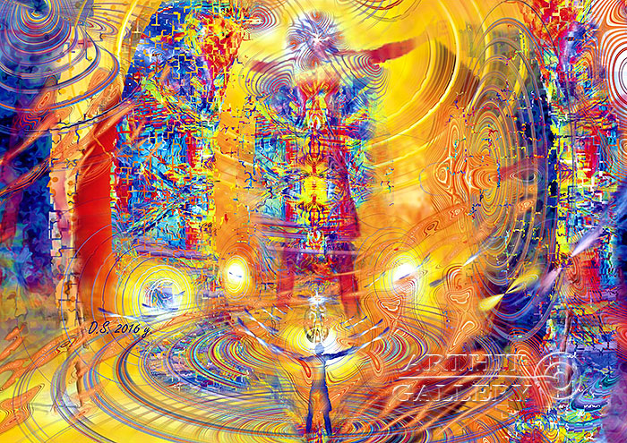 ''Beyond the visible process''.  Степанов Дмитрий. Продажа картин, предметов декоративно-прикладного искусства
