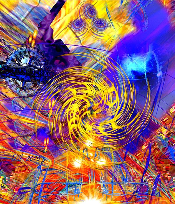 ''The energy of consciousness. Part one''.  Степанов Дмитрий. Продажа картин, предметов декоративно-прикладного искусства