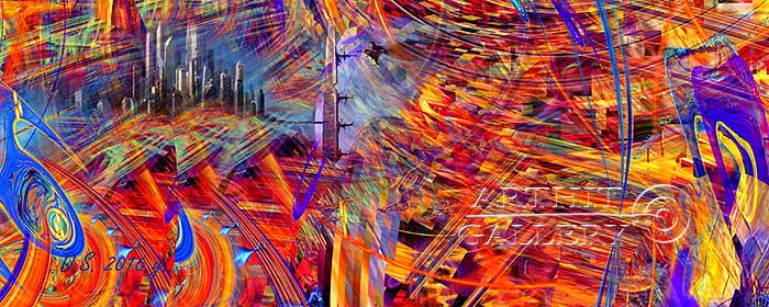 ''The energy of consciousness. Part three''.  Степанов Дмитрий. Продажа картин, предметов декоративно-прикладного искусства