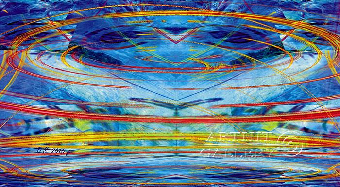 ''Faraday effect-01''.  Степанов Дмитрий. Продажа картин, предметов декоративно-прикладного искусства