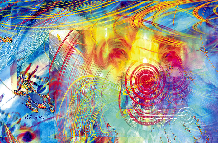 ''Faraday effect-2''.  Степанов Дмитрий. Продажа картин, предметов декоративно-прикладного искусства