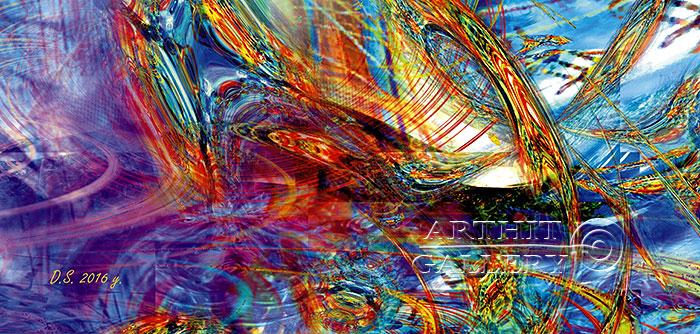 ''Faraday effect-9''.  Степанов Дмитрий. Продажа картин, предметов декоративно-прикладного искусства