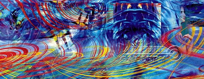 ''Faraday effect-10''.  Степанов Дмитрий. Продажа картин, предметов декоративно-прикладного искусства