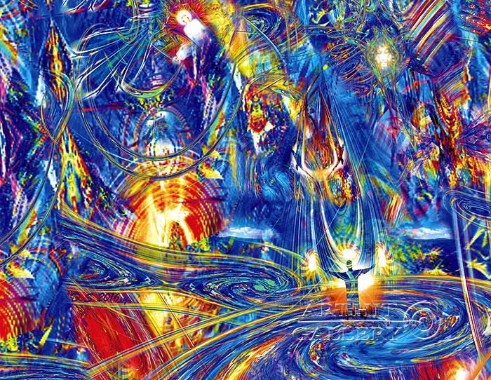 ''The world is in your hands. AUM 0074''.  Степанов Дмитрий. Продажа картин, предметов декоративно-прикладного искусства