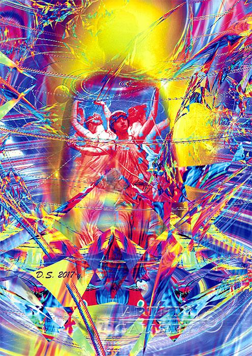 ''Muse Ektaya-17''.  Степанов Дмитрий. Продажа картин, предметов декоративно-прикладного искусства
