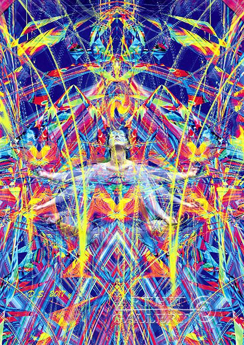 ''Energy intersection 717-A''.  Степанов Дмитрий. Продажа картин, предметов декоративно-прикладного искусства