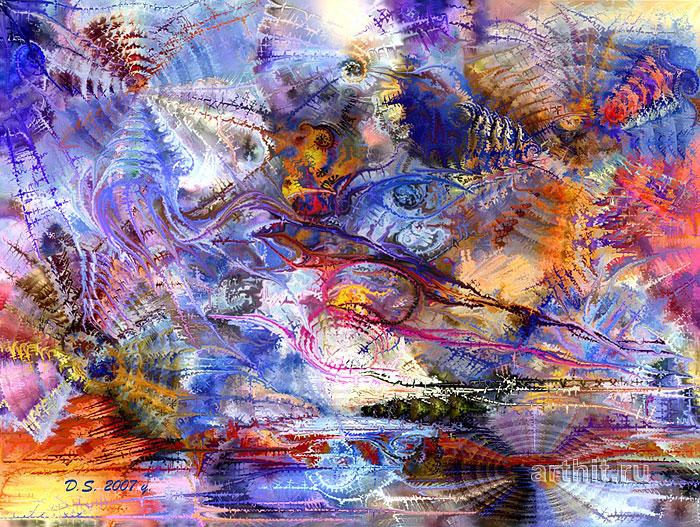 ''Sight of the woman''.  Степанов Дмитрий. Продажа картин, предметов декоративно-прикладного искусства