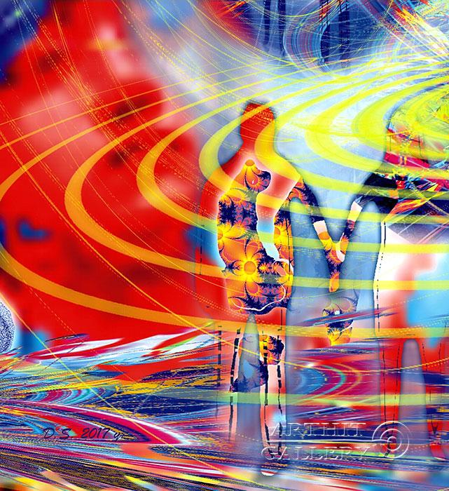 ''Energy intersection 717-J''.  Степанов Дмитрий. Продажа картин, предметов декоративно-прикладного искусства