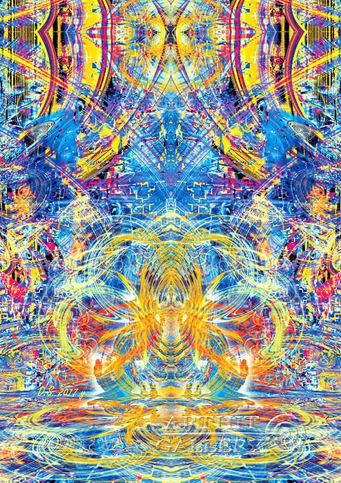 ''Rider of Time-74''.  Степанов Дмитрий. Продажа картин, предметов декоративно-прикладного искусства