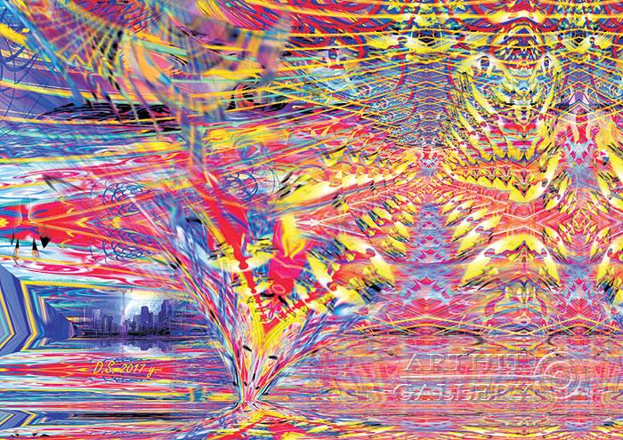 ''Energy systems of creation 79''.  Степанов Дмитрий. Продажа картин, предметов декоративно-прикладного искусства