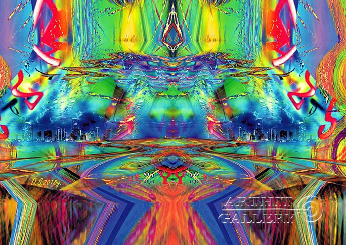 ''Emptiness-73''.  Степанов Дмитрий. Продажа картин, предметов декоративно-прикладного искусства