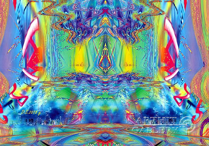 ''Emptiness-76''.  Степанов Дмитрий. Продажа картин, предметов декоративно-прикладного искусства