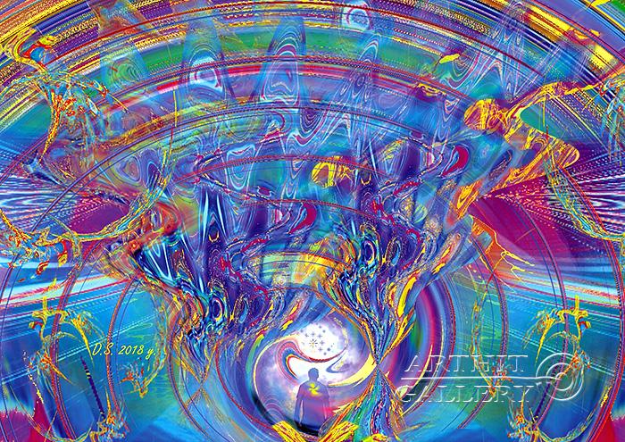 ''Emptiness-797''.  Степанов Дмитрий. Продажа картин, предметов декоративно-прикладного искусства