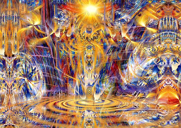 ''DUH RA - the human who has taken energy''.  Степанов Дмитрий. Продажа картин, предметов декоративно-прикладного искусства