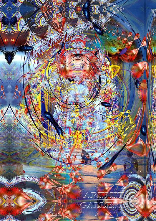 ''Night in blinding dreams 7827''.  Степанов Дмитрий. Продажа картин, предметов декоративно-прикладного искусства