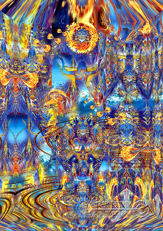 ''Miracle №17 from 7827 year''.  Степанов Дмитрий. Продажа картин, предметов декоративно-прикладного искусства
