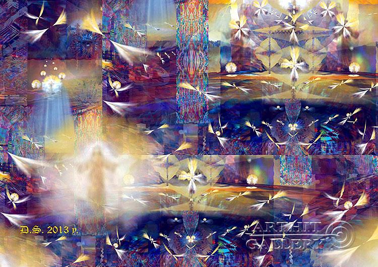 ''Trinity Infinity 7827''.  Степанов Дмитрий. Продажа картин, предметов декоративно-прикладного искусства