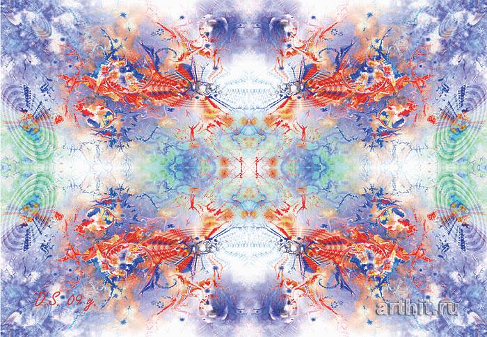 ''White hole''.  Степанов Дмитрий. Продажа картин, предметов декоративно-прикладного искусства