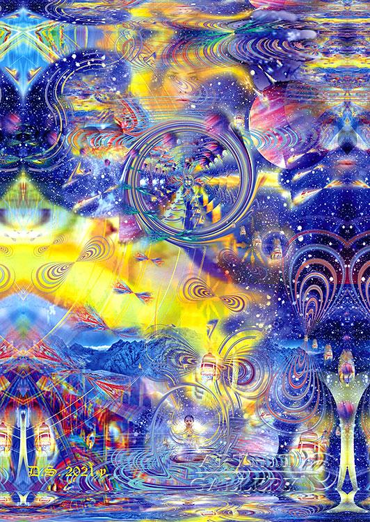 ''Peace of mind-7529''.  Степанов Дмитрий. Продажа картин, предметов декоративно-прикладного искусства