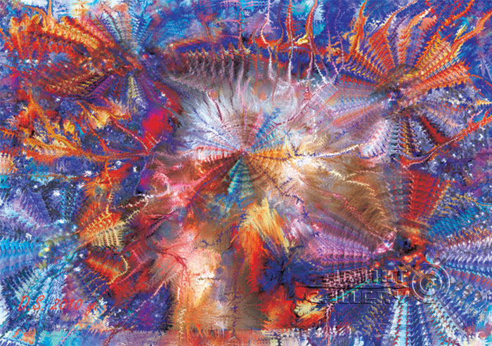 ''The person and Consciousness''.  Степанов Дмитрий. Продажа картин, предметов декоративно-прикладного искусства