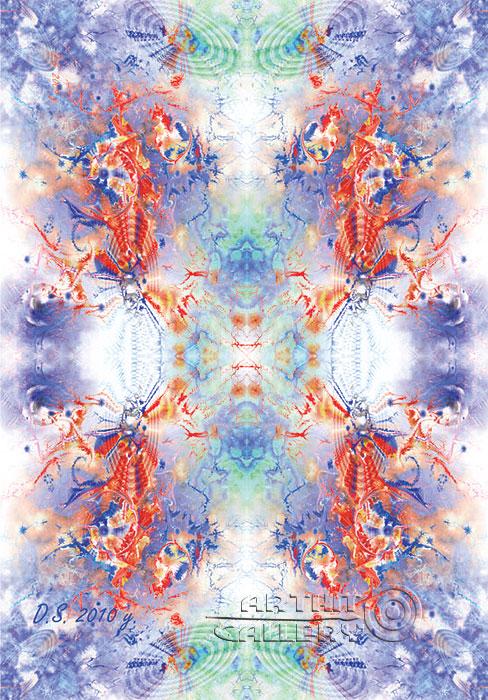 ''Singatare stamp of Atlantis''.  Степанов Дмитрий. Продажа картин, предметов декоративно-прикладного искусства