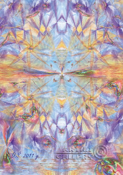 'Cosmic strings'  by Stepanoff Dmitry