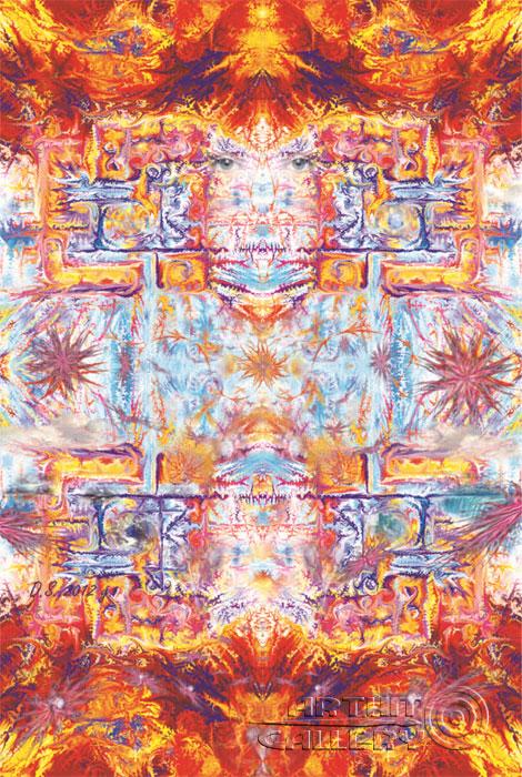 ''The Human and four elements''.  Степанов Дмитрий. Продажа картин, предметов декоративно-прикладного искусства