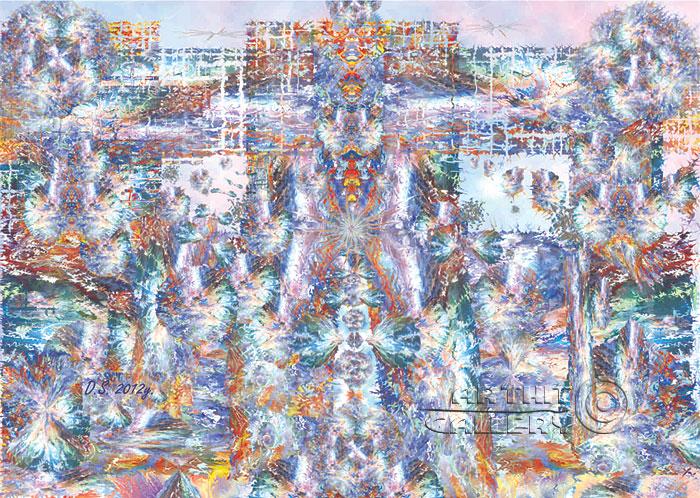 ''Spaceman - Raceman''.  Степанов Дмитрий. Продажа картин, предметов декоративно-прикладного искусства