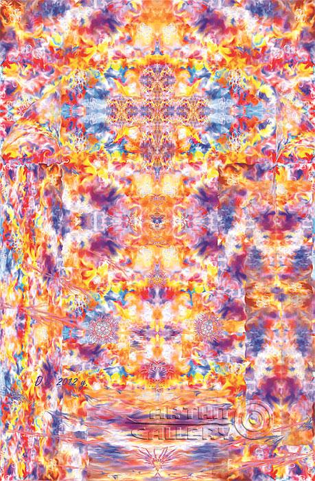 ''Crossworlds''.  Степанов Дмитрий. Продажа картин, предметов декоративно-прикладного искусства