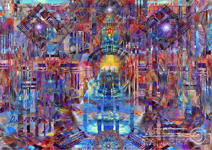''ULTRA LIGHT''.  Степанов Дмитрий. Продажа картин, предметов декоративно-прикладного искусства