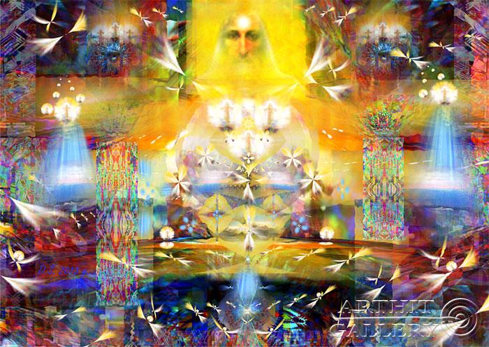 ''Trinity infinite''.  Степанов Дмитрий. Продажа картин, предметов декоративно-прикладного искусства