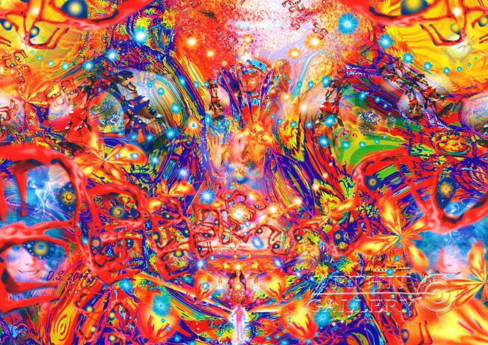 ''Metamorphosis''.  Степанов Дмитрий. Продажа картин, предметов декоративно-прикладного искусства