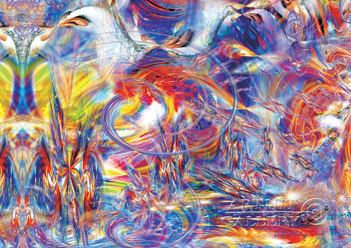 ''Feelings meet objects I''.  Степанов Дмитрий. Продажа картин, предметов декоративно-прикладного искусства