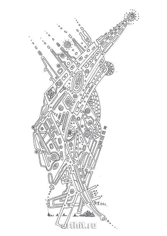 ''Destination''.  Степанов Дмитрий. Продажа картин, предметов декоративно-прикладного искусства