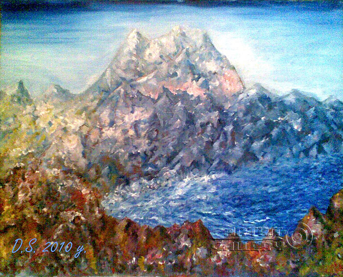 'Moria Mountain'  by Stepanoff Dmitry