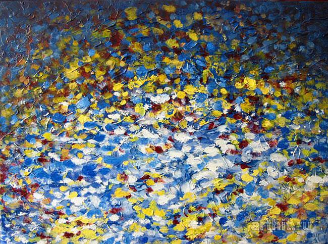 ''Мелодия цветов Композиция № 3''.  Шуплецов Ник. Продажа картин, предметов декоративно-прикладного искусства