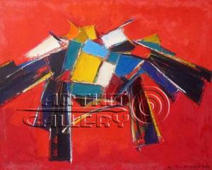 ''За пределами вселенной''.  Манукян Гагик. Продажа картин, предметов декоративно-прикладного искусства