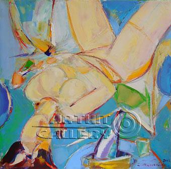 ''Готова''.  Манукян Гагик. Продажа картин, предметов декоративно-прикладного искусства